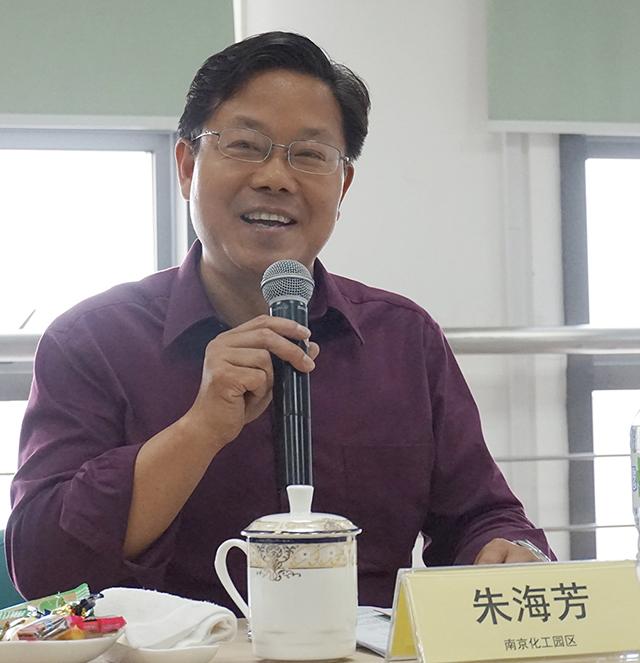 南京市化工园区教师发展中心书记 朱海芳