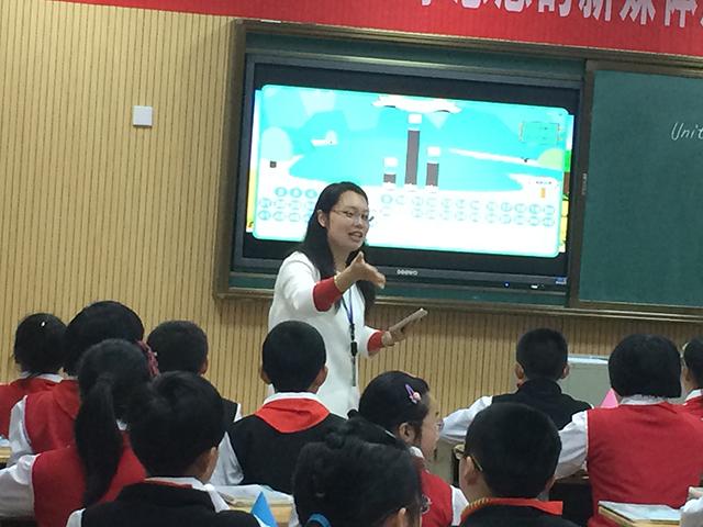 蔡老师应用焦点智慧教室